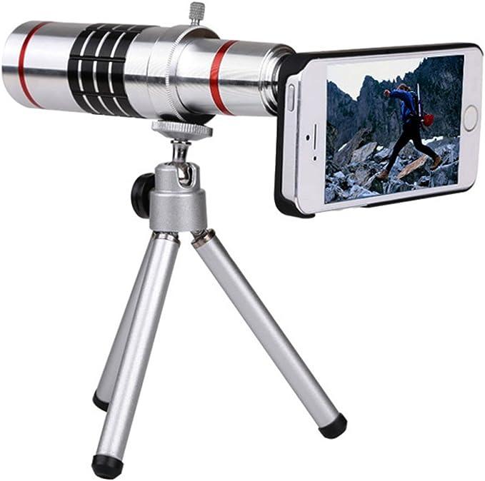 jielin Generic Supre 18 x teléfono móvil Telescopio Clip de Metal ...