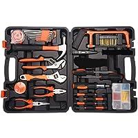 78pcs Tool Kit pou Réparation à Domicile avec Etui de Rangement pour Boîte à Outils