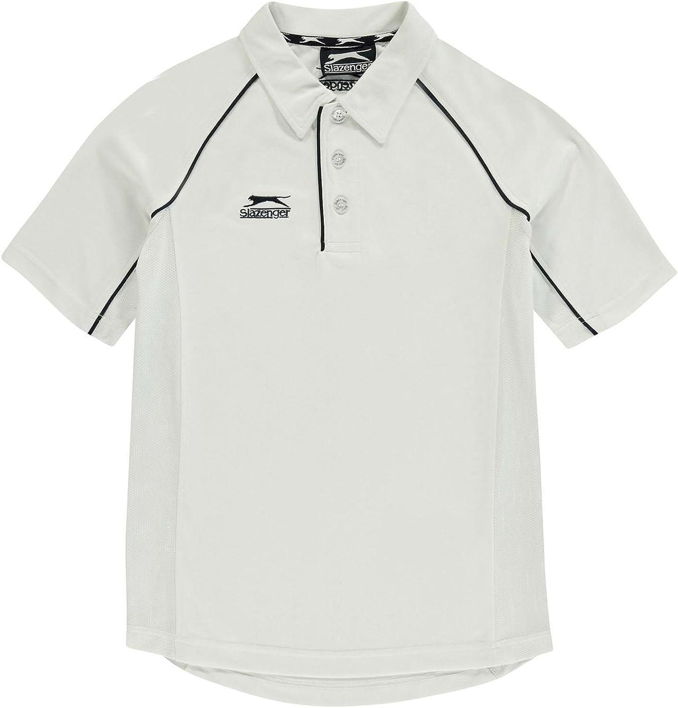 Slazenger Cricket Shirt Age 7-8