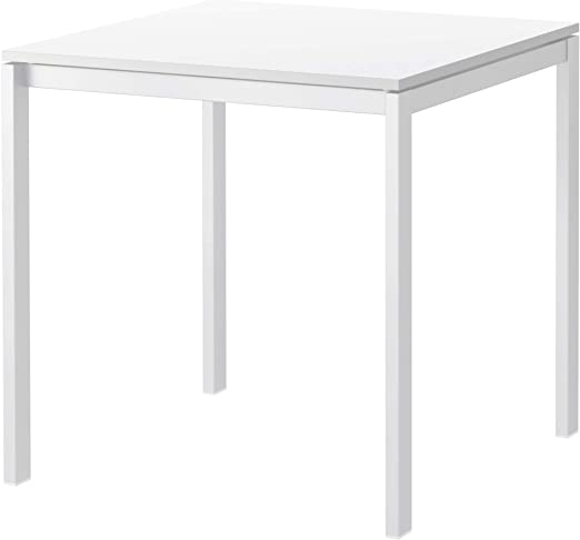 IKEA MELLTORP - Mesa de comedor (75 x 75 cm), color blanco: Amazon ...