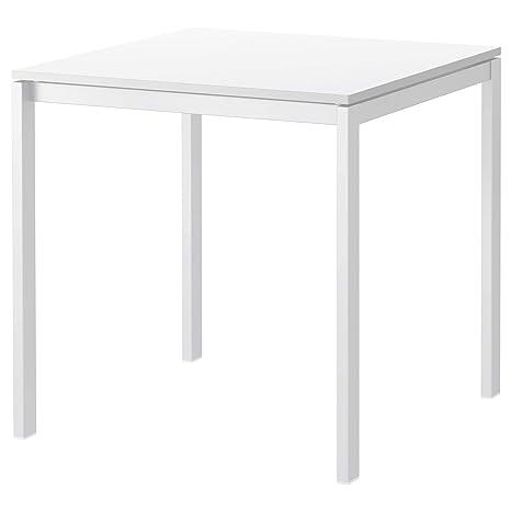 IKEA MELLTORP - Mesa de Comedor (75 x 75 cm), Color Blanco ...