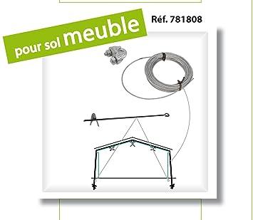 Kit D Ancrage Sur Sol Meuble Pour Abri De Jardin En Metal Lams