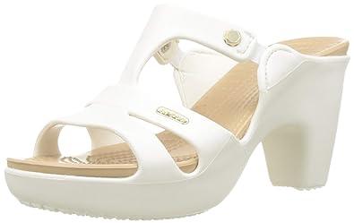 7008c96c7 Crocs Women s Cyprus V Heel W Open Toe  Amazon.co.uk  Shoes   Bags