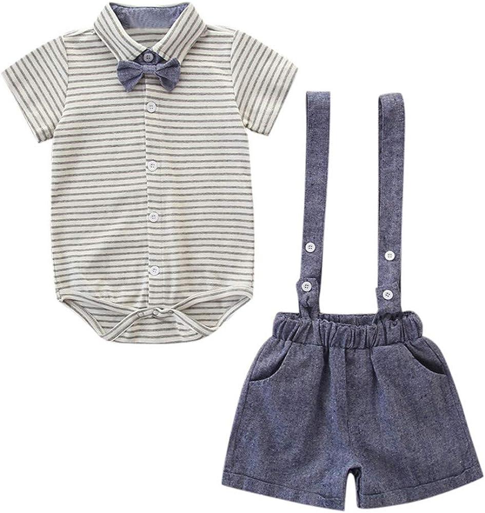 DFVVR - Traje para niños Traje de bebé para niños + Pantalones ...
