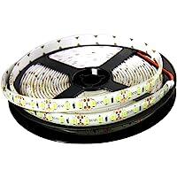 JANDEI - Tira LED 12V Luz Cálida 3000K 600LED Bobina 5 Metros IP65 Exterior SMD2835 Base Adhesiva De Alta Calidad 3M…