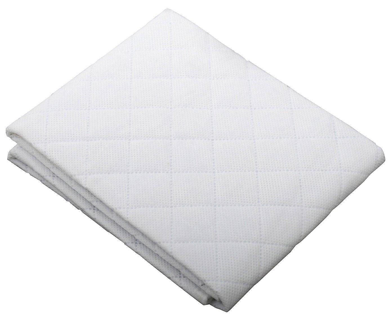 Amazon.com : Arms Reach Concepts Inc. Mini Co-Sleeper Mattress Protector -  White : Crib Mattress Pads : Baby