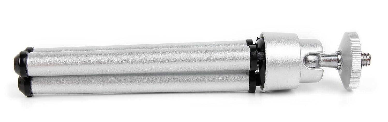 Duragadget Mini tr/épied en Aluminium l/éger pour Netatmo Pluviom/ètre pour Station M/ét/éo inclinable et Compact