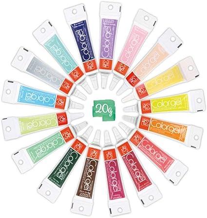 Color Gel Colorant Alimentaire Marron 20 Gr Amazon Fr Jeux Et Jouets