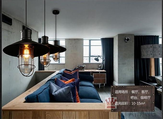 Lx.az.kx e27 moderno lampade a sospensione retro vintage industriale