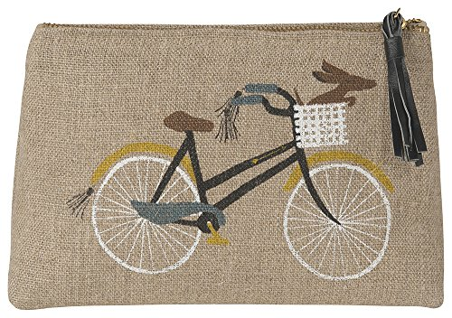 Cosmetic Bag, Small, Bicicletta (Small Floral Gift Bag)