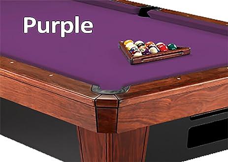 7u0027 Simonis 860 Purple Pool Table Cloth Felt