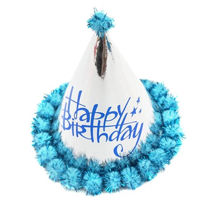 Amazon.com: Yonger sombrero de cumpleaños Cono fiesta de ...