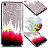 Xiaomi Redmi Note 5A Case, Ngift [Red forest] [2 in 1] [Scratch Resistant Anti-fall] fashion Soft TPU Shockproof Case Cover for Xiaomi Redmi Note 5A