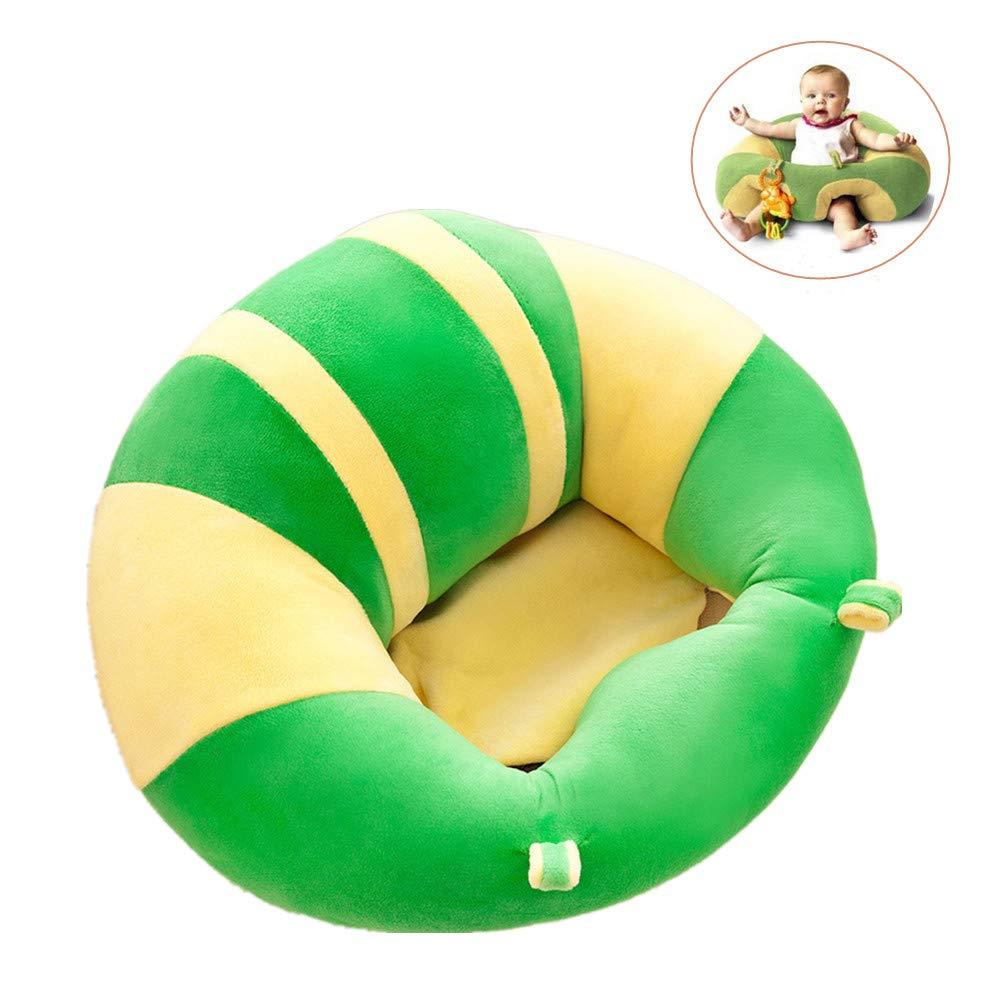 Infant Sitting Chair Plush Cushion Toys for Toddler Infant Safe Body Support Dining Chair Seat Protector Green BLT25WE Baby Sofa