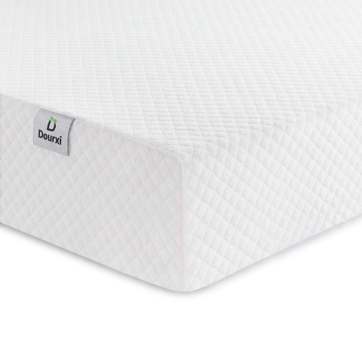 Dourxi Crib Mattress and Toddler Bed Mattress, Dual Sided Sleep System, Firm Side for Infants and Plush Soft Side for Toddlers, Breathable Foam Baby Mattress with Removable Cover by Dourxi