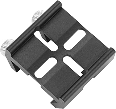 Oumij Finderscope Finder Dovetail Base Telescope Finderscope Mount Dovetail Slot Plate Groove Screw Accessory for Celestron