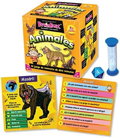 Brain Box Juego de Memoria Animales, Multicolor (Green Board Games 316470A): Green Board Games BrainBox Animals (Spanish): Amazon.es: Juguetes y juegos