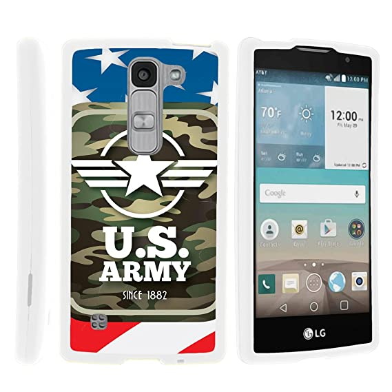 brand new d6c24 e9f48 TurtleArmor | LG Escape 2 Case | LG Logos Case | LG Spirit Case LTE [Slim  Duo] Ultra Slim Hard Protector 2 Piece Fitted Snap On Cover on White War  and ...