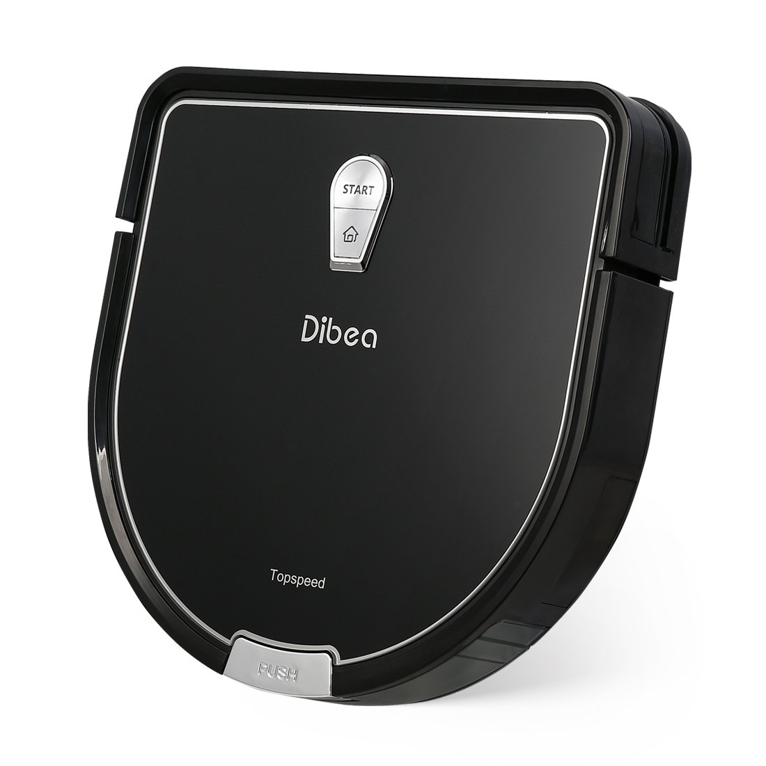 Dibea D960 Robot Vacuum Cleaner, Smart Self-Charging Robot with Precise Edge Cleaning Technology for Pet Hair Thin Carpets