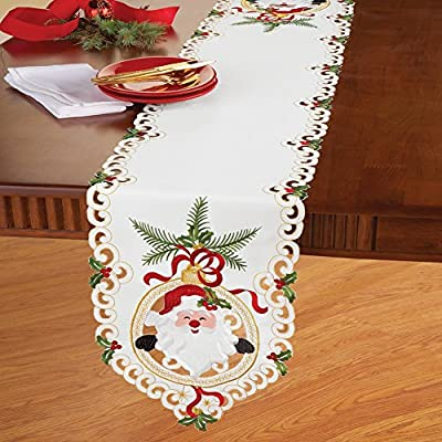 Christmas Santa Claus Table Linens