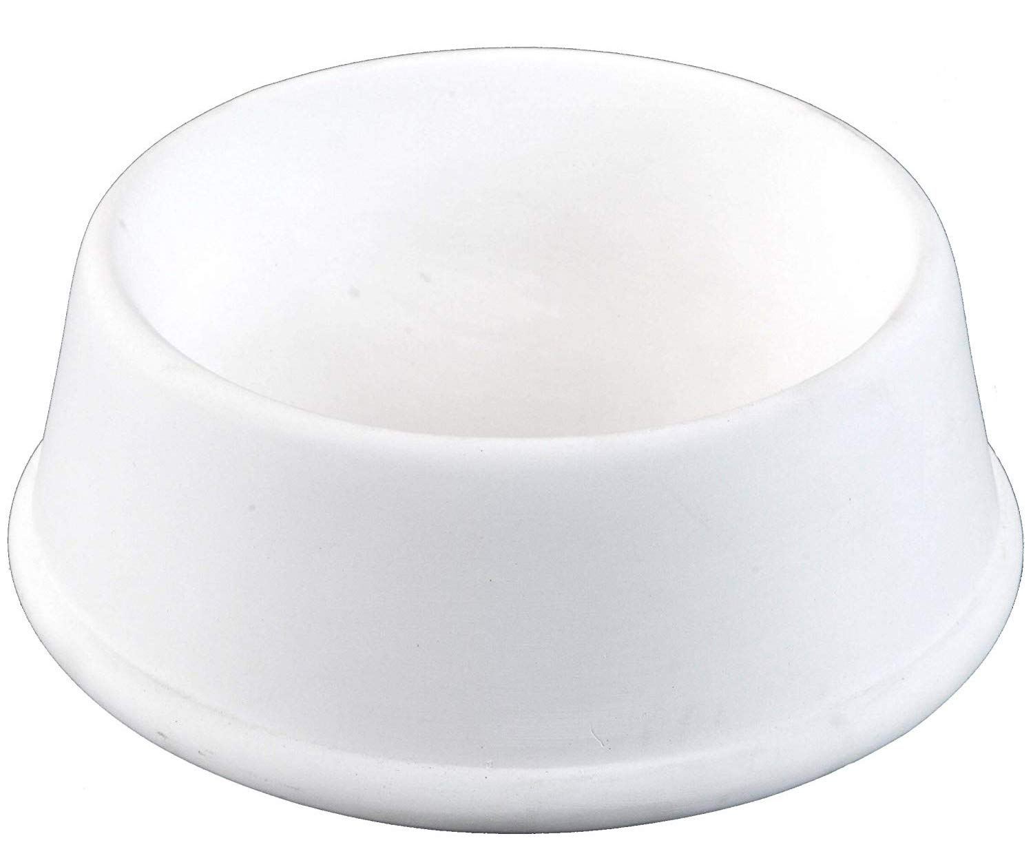 Creative Hobbies Small Pet Food Dish, Case of 6, Unfinished Ceramic Bisque, with How to Paint Your Own Pottery Booklet