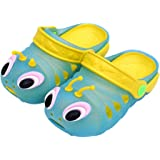 """CHIC-CHIC Chaussure Sandales Sabots Mules Enfant Bébé Fille Garçon Clogs Animal Plage Eté (13.9cm/5.47"""", Bleu)"""