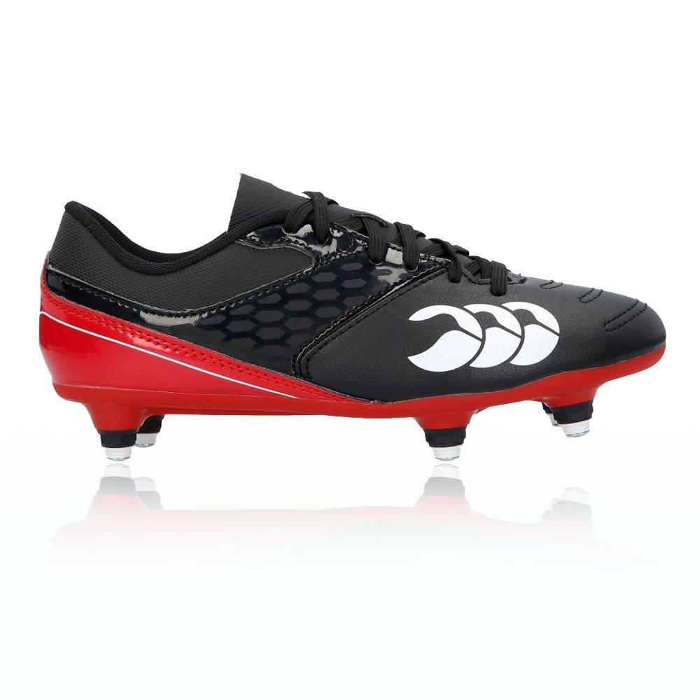 Canterbury Phoenix Raze SG Junior Rugby Boots - 4.5 - Black