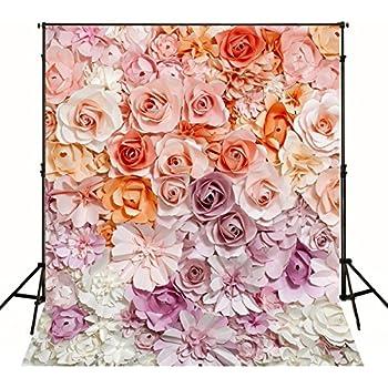 Amazon Photography Backdrop 8x8 3d Paper Flower Curtain