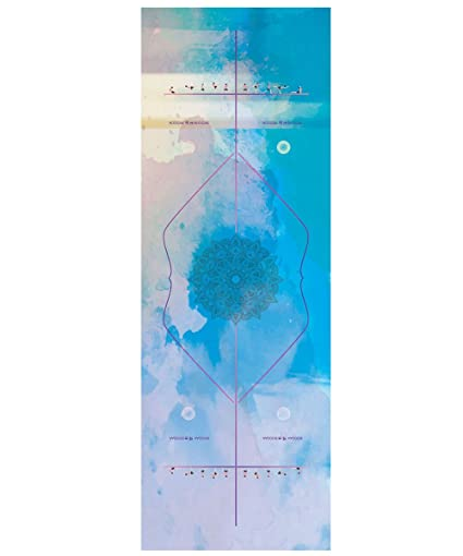 DOXUNGO Premium Yoga, Toalla Esterilla de Yoga Grosor 2 mm ...