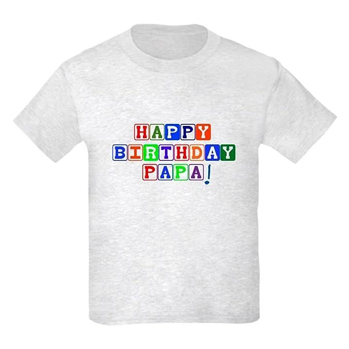 Amazon.com: CafePress – Feliz cumpleaños Papa Kids luz ...