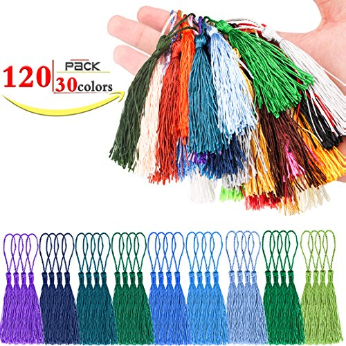 Check Out This KeNeer Tassels Pendant Multi-color Handmade Long Silk Party Decorations, DIY for Book...
