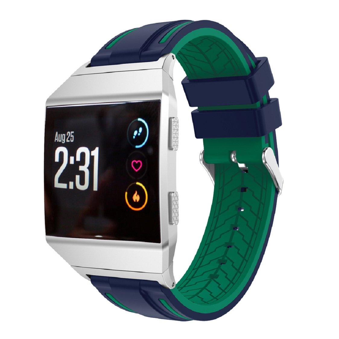 WensLTD for Fitbit Ionicバンド、ソフトシリコン交換用スポーツバンドFitbit Ionic腕時計 I I B0765S5TYJ