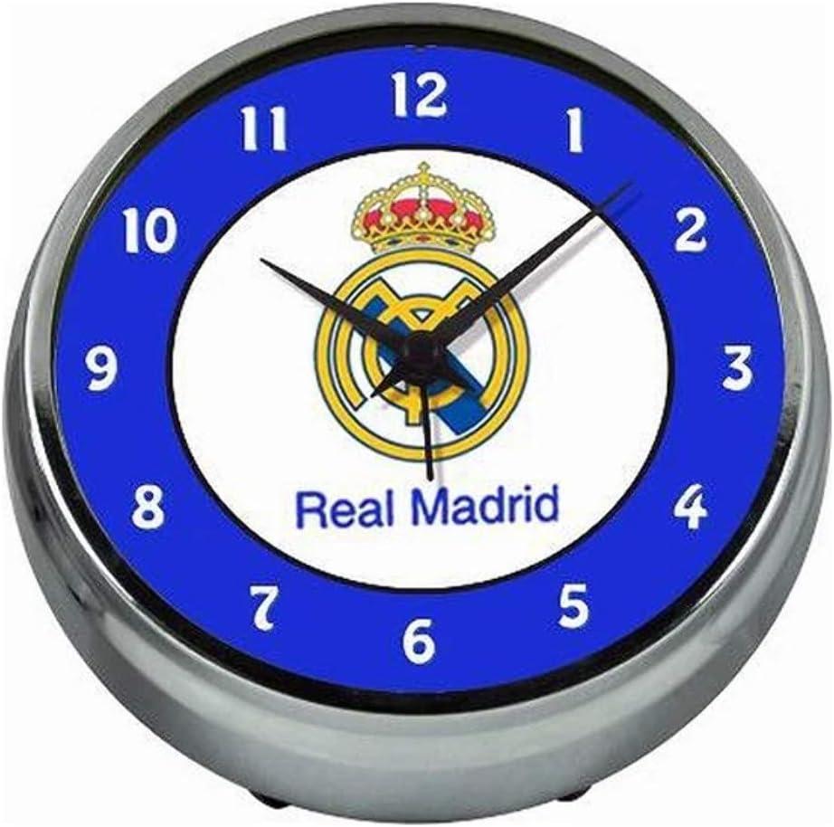 Seva Import Real Madrid Despertador, Unisex, metálico, Talla Única: Amazon.es: Deportes y aire libre