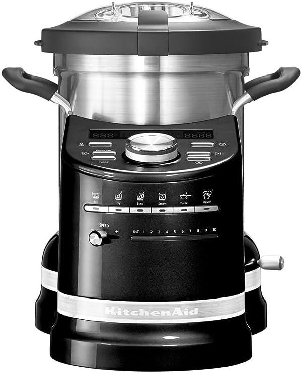 Kitchenaid 5 kcf0103 EOB/1 Artisan Cook Processor, Onyx Negro: Amazon.es