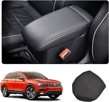 Mittelarmlehne Abdeckung Für Seat Tarraco Armlehnen Box Mittelkonsole Schutz Kastendeckel Schwarz Auto