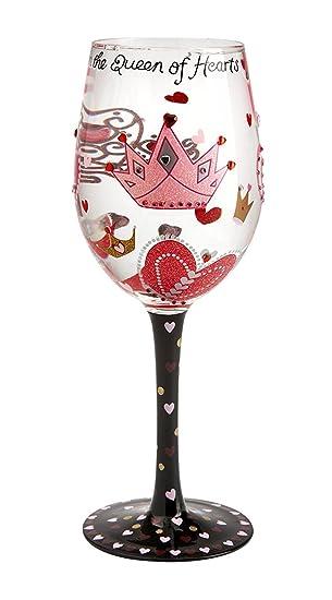 wine glass queen of hearts lolita valentine 2012 my holiday vino - Valentine Wine Glasses