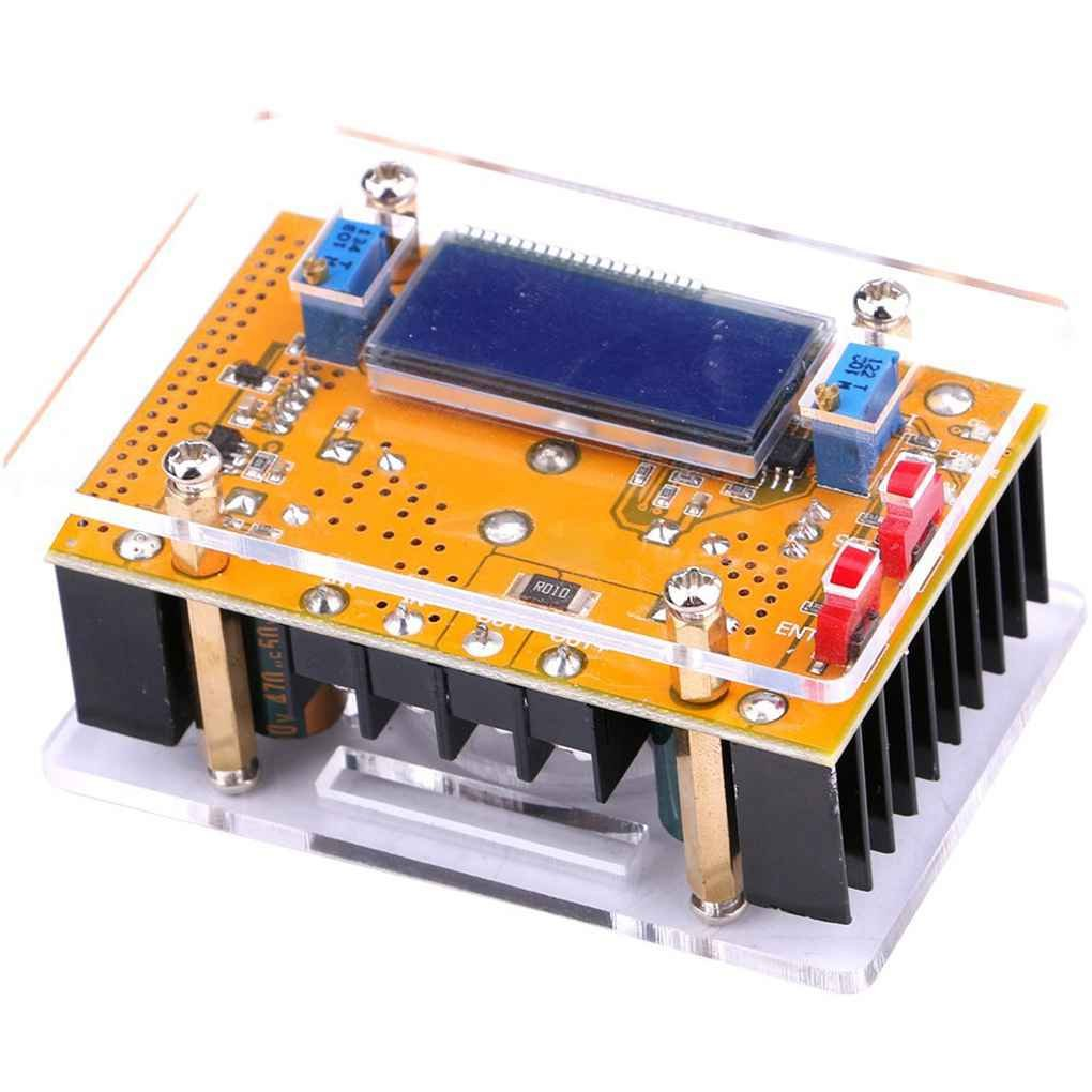 EgalBest 3A/5A/10A LCD Display DC-DC Adjustable Step-Down Power Supply Module Regulator Converter Buck Voltage Module 3A 62x44x18mm Car Electronics & Accessories