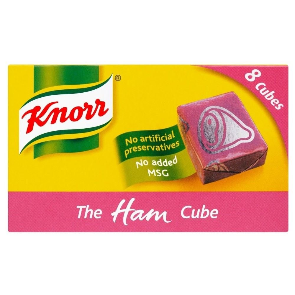 Knorr Stock Cubes Ham (8x10g)