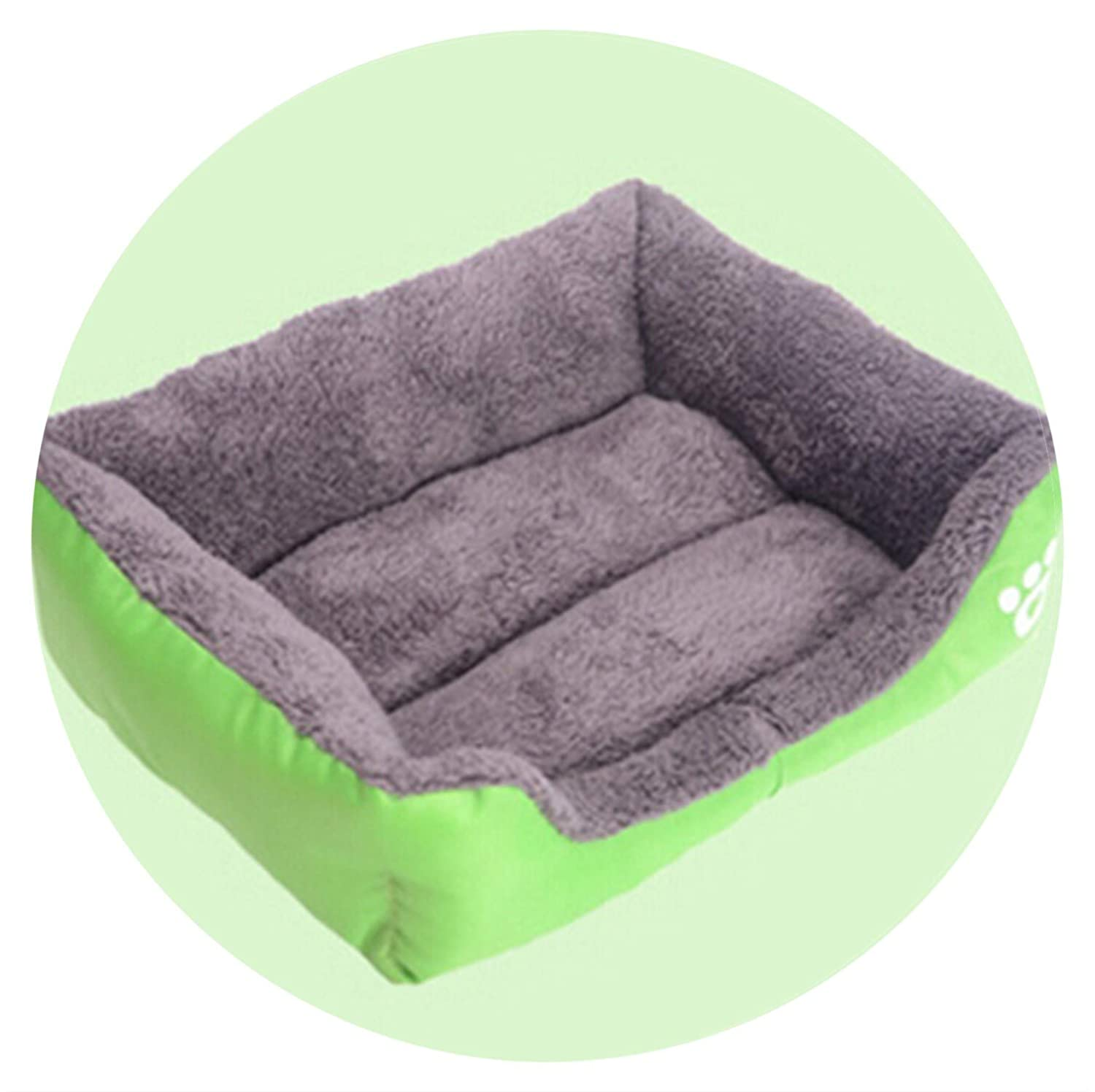 Amazon.com : Sex Appealing Solid Color Pet Dog Bed Soft PP ...