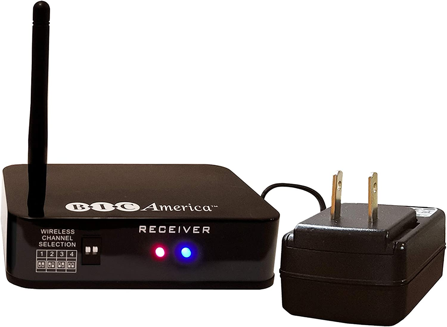 BIC America W-Receiver Add-on W-Receiver for Wireless Subwoofers and Powered Speakers