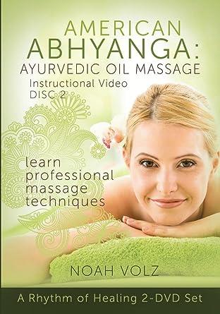 American Abhyanga Ayurvedic Oil Massage Instructional Video Disc 2