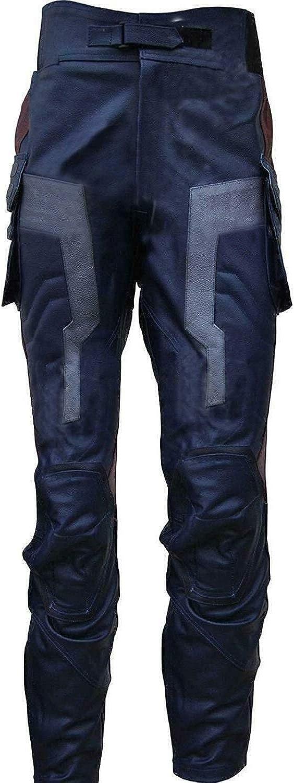e Genius -  Giacca - Giacca - Uomo Pantaloni Capitan America Blu Navy CKw3x