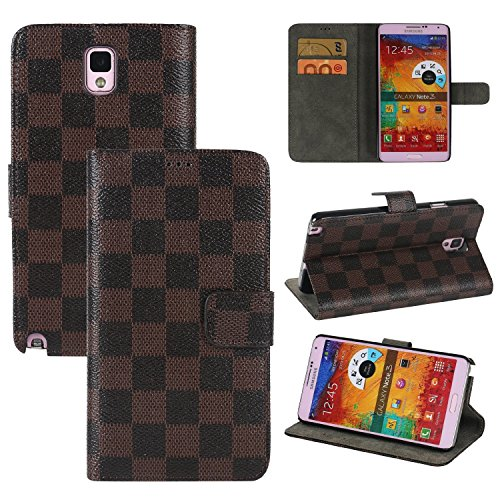 galaxy-note-3-case-bongeek-kickstand-feature-premium-pu-leather-flip-cover-wallet-case-grid-pattern-
