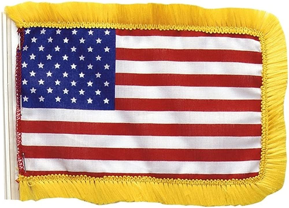 12 CLOTH American Antenna FlagS  WITH FREE SHIPPING
