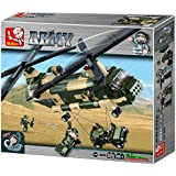 "Sluban Transport Helicopter ""Army - Chinook"" Building Kit (520 Pieces)"