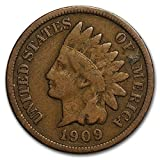 1884 indian head penny - 1909 Indian Head Cent Penny G/VG Condition Set Very Good Indian Head Good and Better