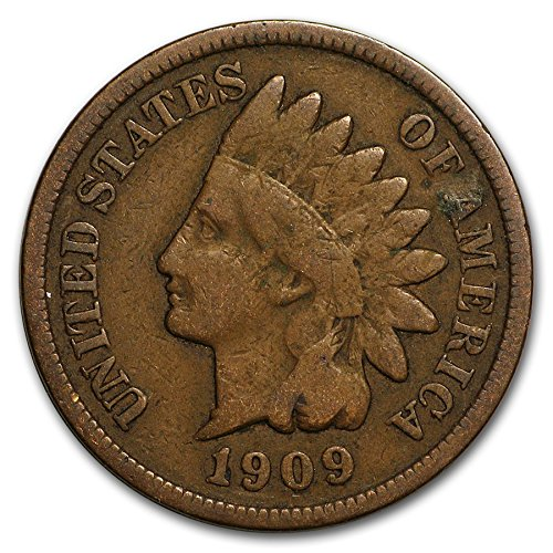 - 1909 Indian Head Cent Penny G/VG Condition Set Very Good Indian Head Good and Better
