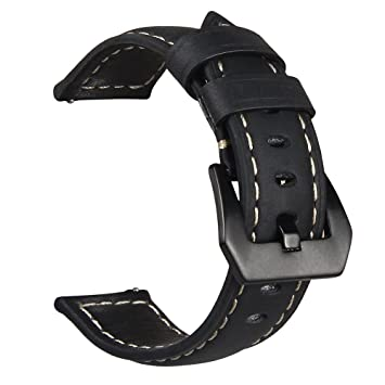Banda Reloj Clásico V-MORO para Samsung Gear S3 Frontier/ Classic Watch, Piel Genuina 22mm Reemplazo de Brazalete para Smart Watch Para Gear S3 ...