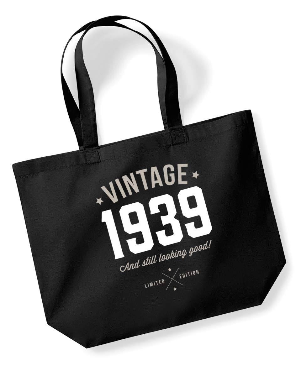 80th Birthday 1939 Keepsake Funny Gift Gifts For Women Novelty Ladies Female Looking Good Shopping Bag