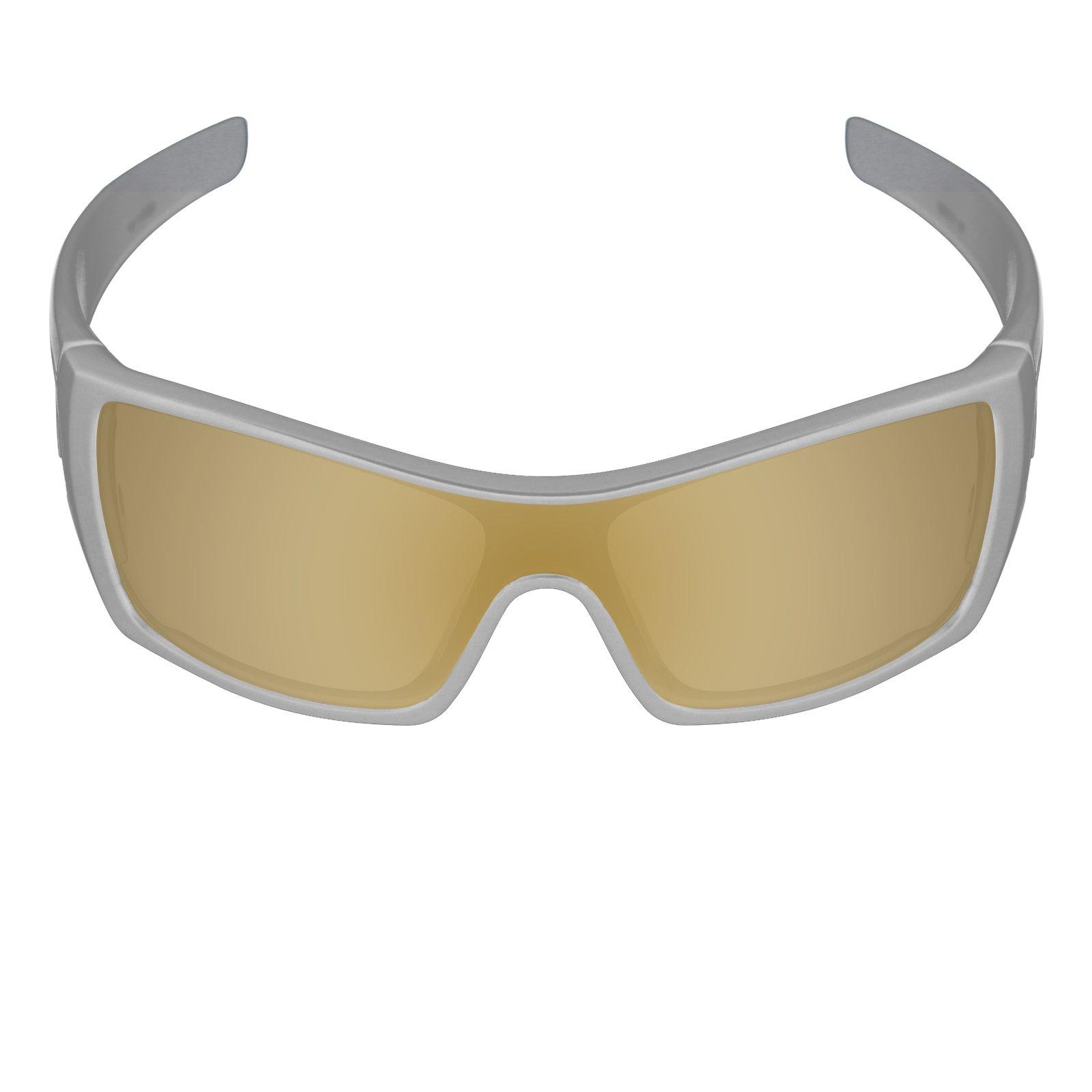 Galvanic Replacement Lenses for Oakley Batwolf Sunglasses - Tungsten  Polarized d1255e6040
